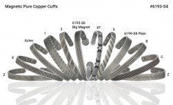Buy Magnetic Antique Silver Pure Copper Cuff