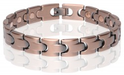 Buy Magnetic Copper Tone Link Bracelet in Wichita, Kansas