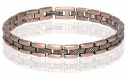 Buy Magnetic Copper Tone Link Bracelet in Worcester, Massachusetts