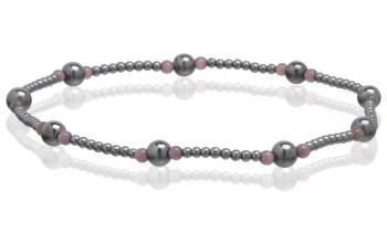 Magnetic Hematite Stretchable Anklets in California