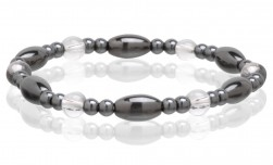 Buy Magnetic Hematite Stretchable Bracelet