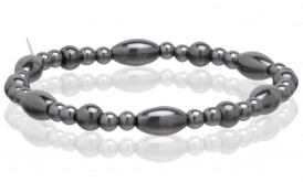 Magnetic Hematite Stretchable Bracelet