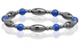 Magnetic Hematite Stretchable Bracelet