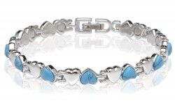 Buy Magnetic Multi Color Stone Bracelet in Fairfield, California