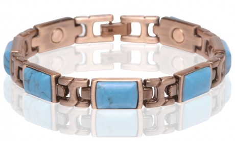 Magnetic Multi Color Stone Bracelet