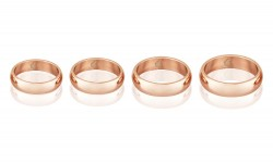 Buy Magnetic Pure Copper Bands 6mm in Boston, Massachusetts