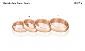 Buy Magnetic Pure Copper Bands 6mm in Houston, Texas