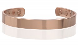 Buy Magnetic Pure Copper Cuff 10mm Adjustable in Garland, Texas