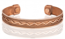 Buy Magnetic Pure Copper Cuff in Santa Ana, California