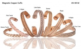 Buy Magnetic Pure Copper Cuff in Garland, Texas