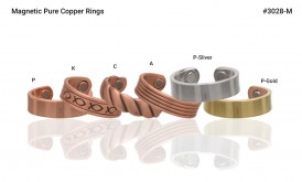 Magnetic Pure Copper Ring