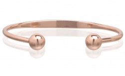 Buy Magnetic Pure Copper Traditional Ball Cuff in New York City, New York