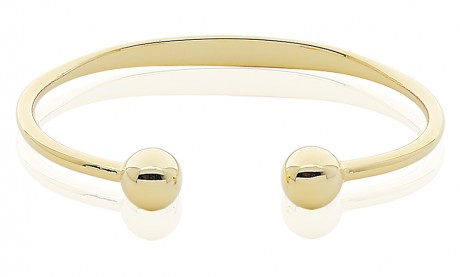 Magnetic Pure Copper Traditional Ball Cuff