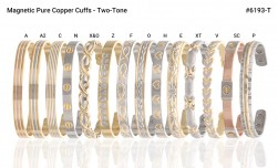 Buy Magnetic Two Tone Copper Cuff