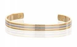 Buy Magnetic Two Tone Copper Cuff in Santa Ana, California