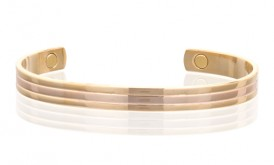 Magnetic Two Tone Copper Cuff