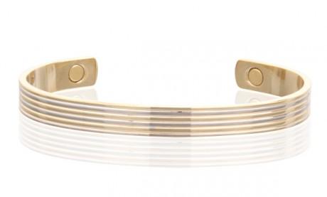 Magnetic Two Tone Copper Cuff