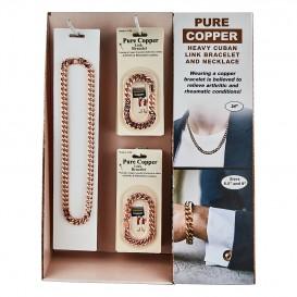 Buy Pure Copper Cuban Heavy Link Bracelet