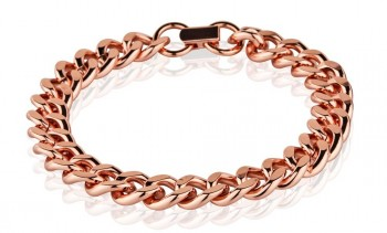 Pure Copper Heavy Cuban Link Bracelet in California