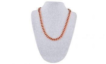 Pure Copper Heavy Cuban Link Necklace in California
